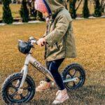 girl riding bike